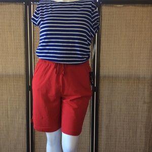 Kim Rogers Shorts - Kim Rogers cotton shorts in White.